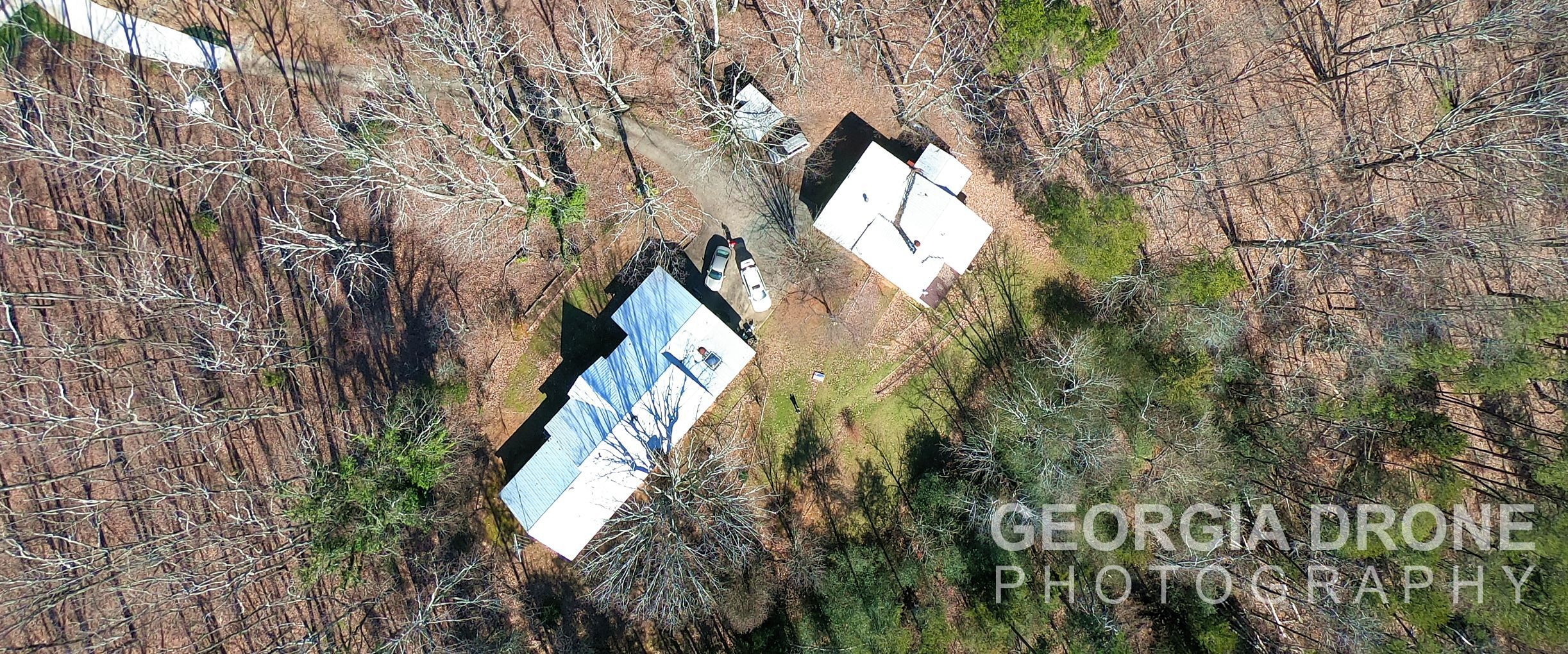 Drone photo of Cumming GA residential real estate